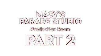 Macy's Parade Studio Tour (Part 2) The Production Room