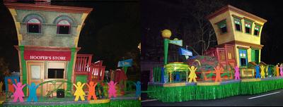 123 Sesame Street Float