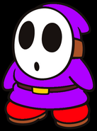 Chase the Purple Shy Guy