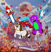 Sponge Macy's Parade 1994 Poster Mockup