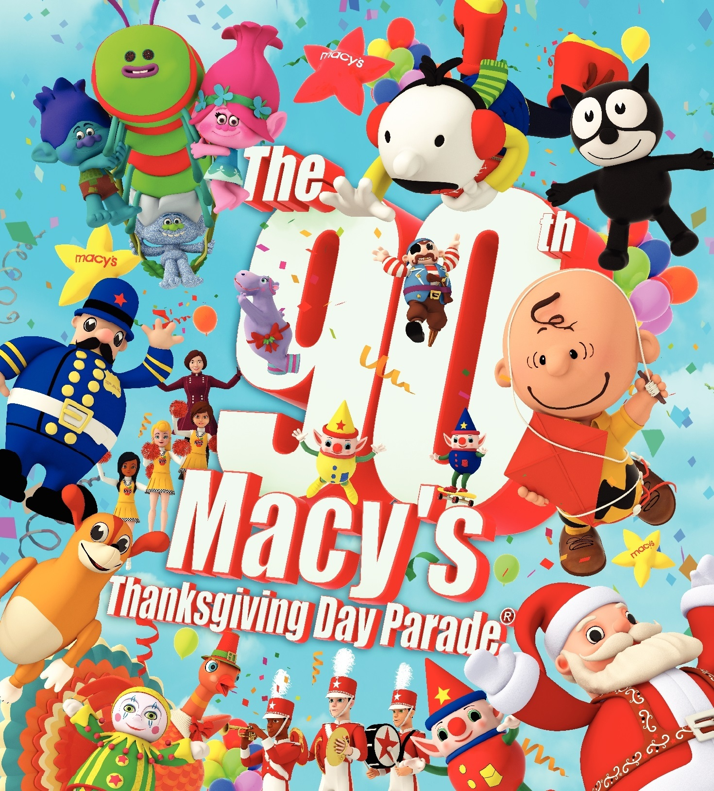 The 90th Annual Macy S Thanksgiving Day Parade Macy S