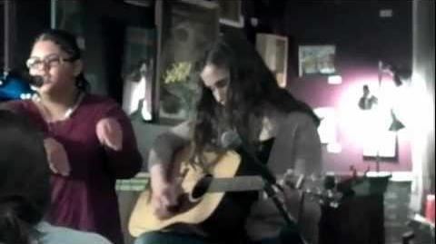 "Monique singing ""Caribbean Arctic Avians"" (parody of ""Caribbean Amphibian"")"
