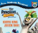 Happy King Julien Day (All Aboard Reading)