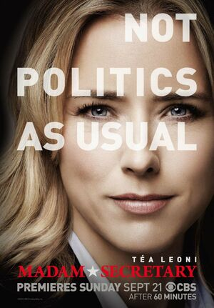 Madam Secretary Season 1 poster