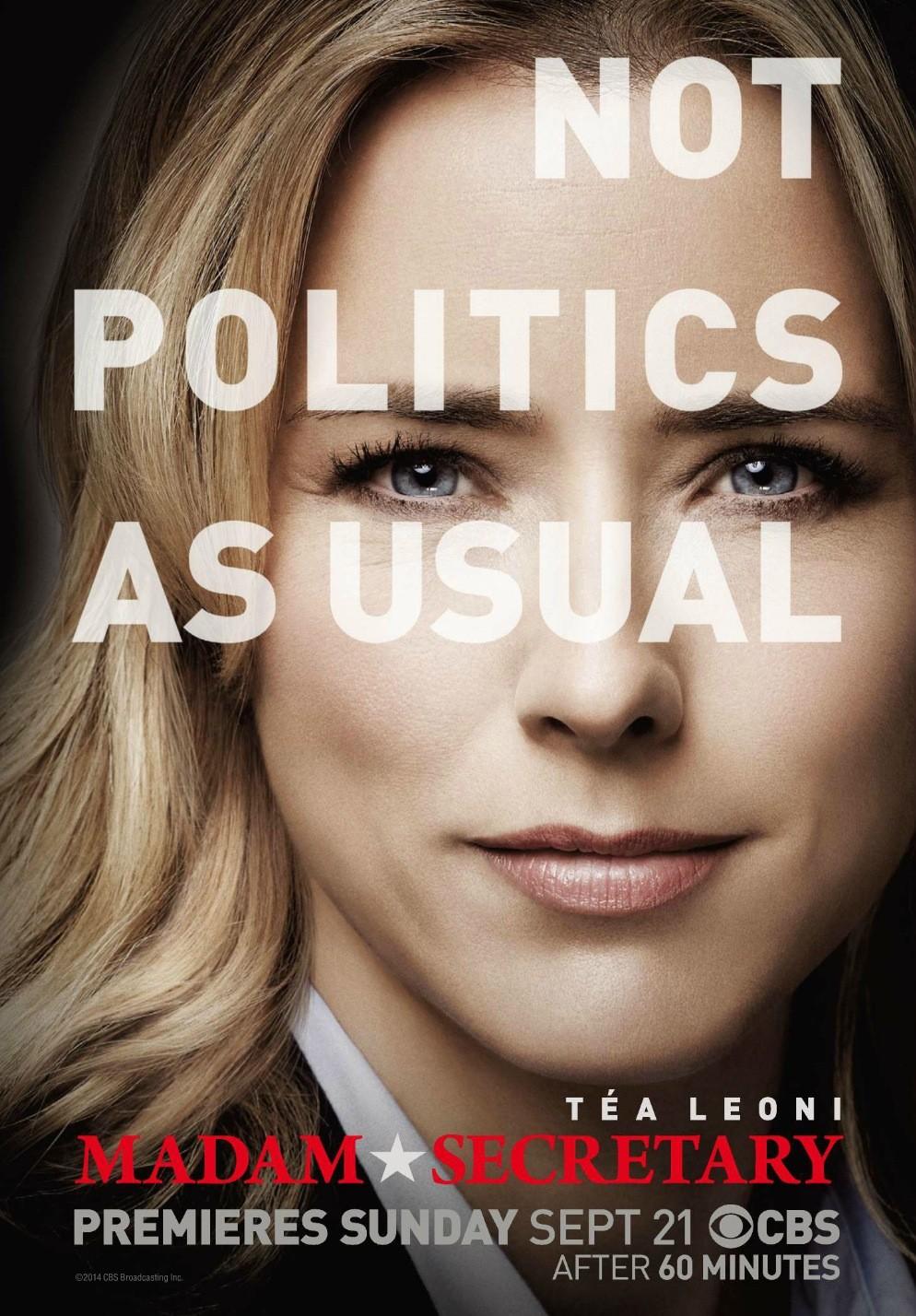 Resultado de imagem para Madam Secretary season 4 posters
