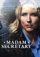 Madam Secretary Season 4 DVD front cover