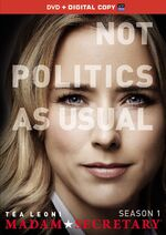 Madam Secretary Season 1 DVD front cover
