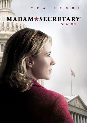 Madam Secretary Season 3 DVD front cover