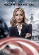 Madam Secretary Season 2 DVD front cover