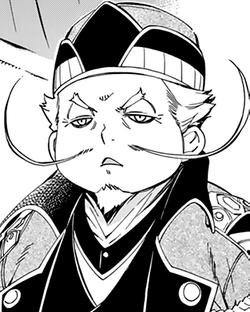 Prime Minister Badouin manga