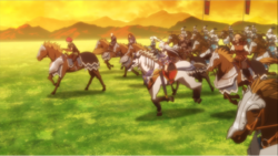 Silver Meteor Army Anime