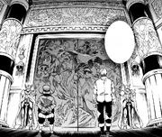 Mashas and Badouin at King Chambers Doors