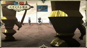 Battle against Muozinel