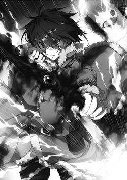 Vol9-LN-Tigrevurmud-Saves-Elizaveta-Kills-2-Headed-Dragon(Gara-Dora)-with-Black-Bow-Power-(Charged-Arrow)