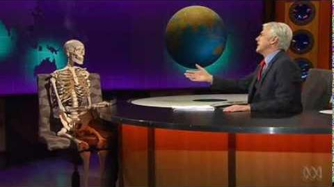 Aquatic Rhetoric Shaun Micallef's MAD AS HELL Wednesday, 8pm, ABC1