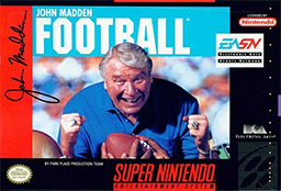 John Madden Football (1990) Coverart