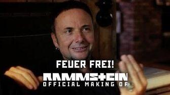 Rammstein - Feuer Frei! (Official Making Of)