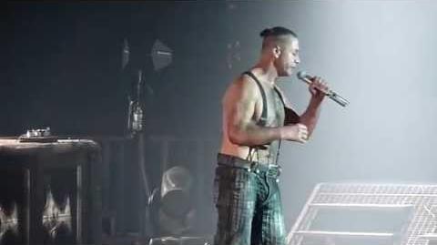 Rammstein - Frühling in Paris live Paris Bercy