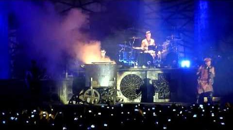 Rammstein - MeinTeil - Live in Palau Sant Jordi Barcelona 2013
