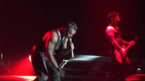 Rammstein Mein Herz Brennt Live Montreal 2012