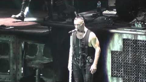 Rammstein - Wollt Ihr Das Bett In Flammen Sehen? (Live)