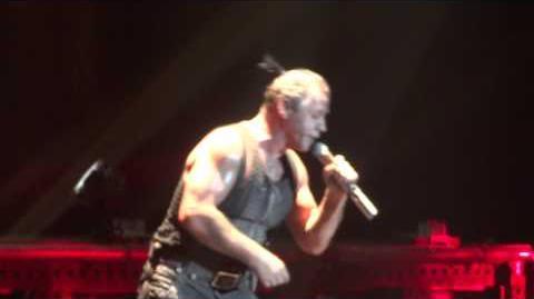 Rammstein Sehnsucht Live Montreal 2012