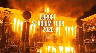 Rammstein Europe Stadium Tour 2020