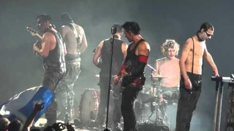 Rammstein Mann Gegen Mann Live Montreal