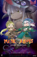 Made in Abyss Movie 3 Dawn of the Deep Soul Western reveal poster 2