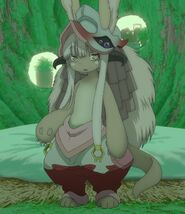 Full view of Nanachi in the Anime