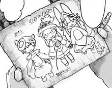 Nanachi drawing