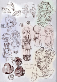 Various Charasketches