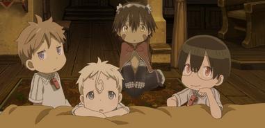 Nat, Kiyui, Reg and Shiggy