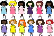 Madeline and the Girls
