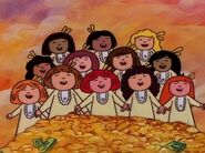Madeline and 11 Girls Sing A Songs