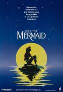 The Little Mermaid Disney movie poster