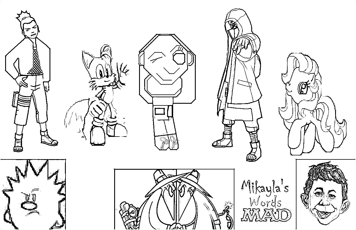 image mikayla u0027s words mad coloring page 2 jpg mad cartoon