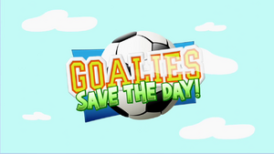 Goalies Save The Day! TitleScreen
