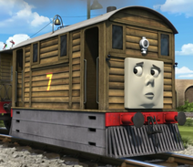 Toby the Brown Old Engine