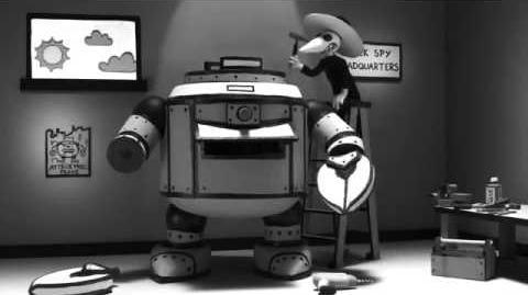 MAD - Spy vs Spy - Robot Paper Shredder
