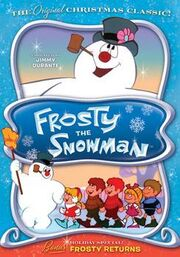 Frosty the Snowman TV special DVD cover