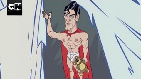 MAD - Extreme Superman DC Nation Cartoon Network