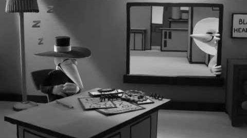 MAD - Spy vs Spy - Black Spy's Puching Machine