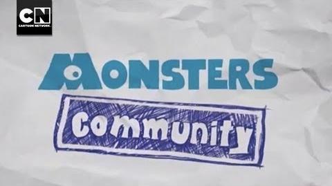 Monsters Community MAD Cartoon Network