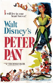 Peter Pan Disney movie poster