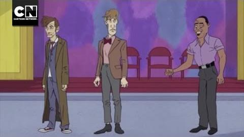 Doctor Who's Line Is it Anyway MAD Cartoon Network