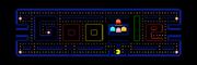 Google Pac-Man banner