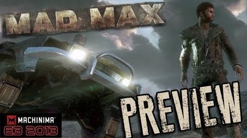 Mad Max E3 Demo & Interview!!