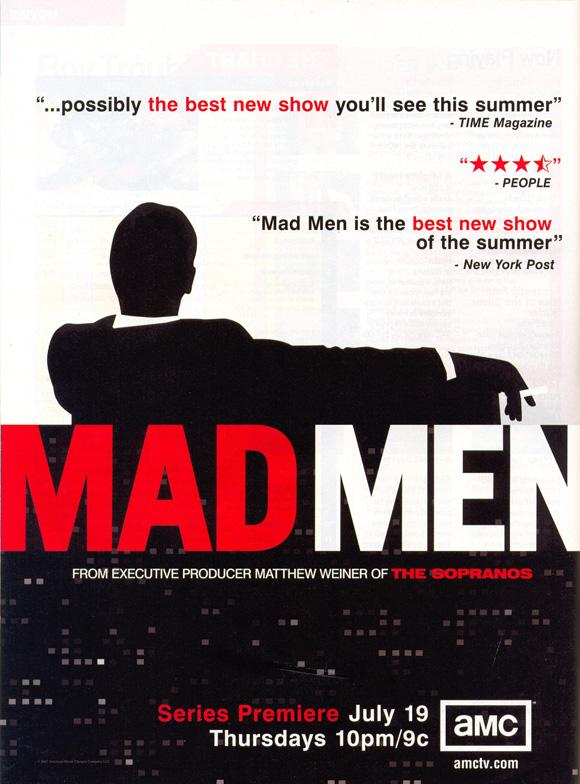 "Mad Men Cast 13 x 19/"" Photo Print"