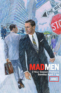 Mad Men Season 6, Promotional Poster